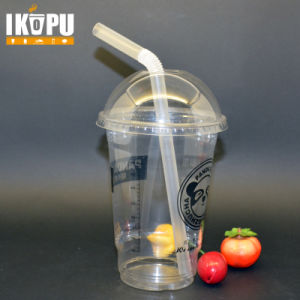 24oz 700ml Big Plastic Cups for Salad Fruit with Pet Lid pictures & photos