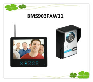 "9"" Color Wireless Video Doorphone and Pictures Record Picture Motion Detecting to Record pictures & photos"