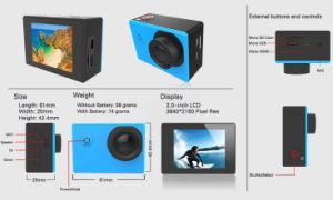 Multi Color Mini 2.0 Inch Underwater 30m Digital Camera pictures & photos