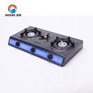 Nonstick The Oil Stainless Steel Gas Stove, Triple Burner pictures & photos