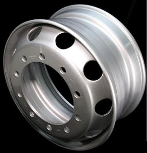 "Steel Wheel 22.5""X8.25"" High Quality Stainless Steel Wheel Rims pictures & photos"