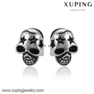 Fashion Jewelry Star Skeleton Shaped Stainless Steel Earring for Christmas Day pictures & photos