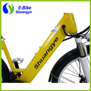 Shuangye 26′′ 36V Alloy Frame Hidden Battery City Electric Bike pictures & photos