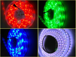 SMD LED 5050 Strip RGB Color 60LEDs/M with TUV Ce pictures & photos