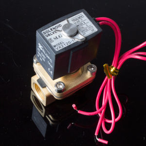Yuyao Sanlixi N 1/4 Inch Vx2120-08 3mm Orifice Steam Solenoid Valve pictures & photos