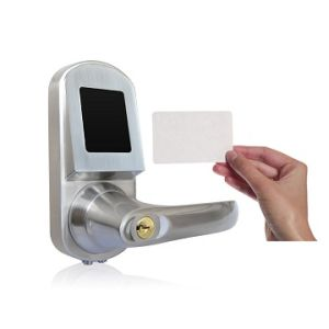 Zinc Alloy Access Control with Chrome Plating Smart ID Card Door Lock pictures & photos
