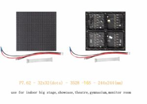 Indoor P7.62 LED Panel 732mm*732mm Aluminum Cabinet Housing for Indoor HD LED Advertising Screen or Stage Rental Screen pictures & photos