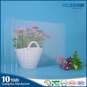 Olsoon High Quality 0.8-12mm Thickness Extruded Transparent Acrylic Plastic Sheet PMMA Sheet pictures & photos