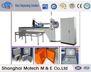 Foam in Place Gasket Machine for Seamless Cabinet pictures & photos