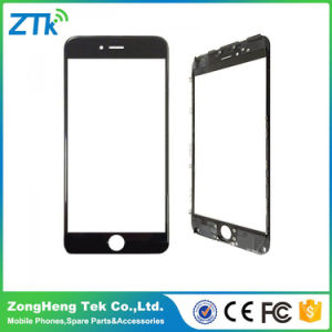 Black Phone Front Screen Glass with Frame for iPhone 7 pictures & photos