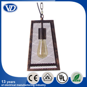 Loft American Retro Industry Iron Pendant Light Iron Net Lamp