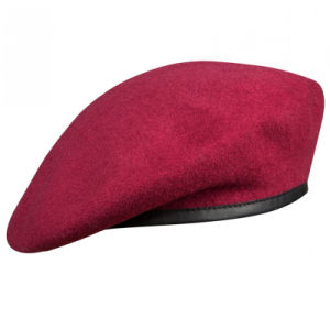 Custom Embroidery Army Wool Beret Military Beret Caps pictures & photos