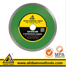 Hot Pressed Wet Cutting Diamond Saw Blade for Glass pictures & photos