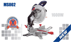 1600W 255mm Industrial Cutting Miter Saw (MS002) pictures & photos