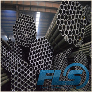 High Quality Black Steel Pipe Round pictures & photos