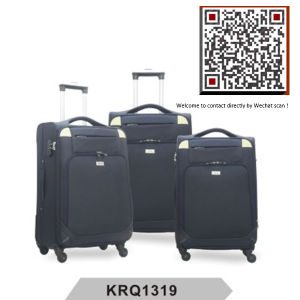 New Style Nylon 4wheels Inside Trolley Luggage (KRQ1309) pictures & photos