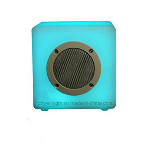 New Model Wireless RGB Color Changing LED Light Canned Bluetooth Speaker pictures & photos