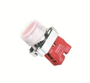 Electrical 22mm Flush Button Spring Return Pushbutton Switch pictures & photos