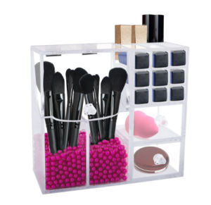 Luxury Acrylic Cosmetic Storage Display Brush Holder pictures & photos