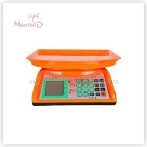 30kg Plastic Electronic Scale (30*29.5*13cm) pictures & photos