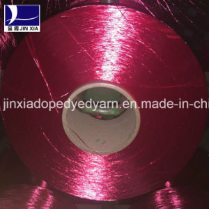 Filament Polyester Yarn FDY 70d/36f Dope Dyed pictures & photos