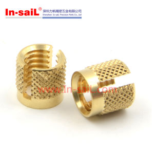 Exp-Loc Slotted Threaded Insert Nut pictures & photos