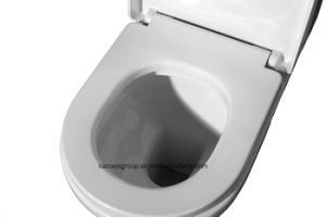 Two Piece Ceramic Toilet Ce Washdown Water Closet Wc T16006 pictures & photos