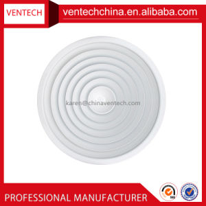 HVAC System Indoor Decoration Air Diffuser Aluminium Round Ceiling Diffuser pictures & photos