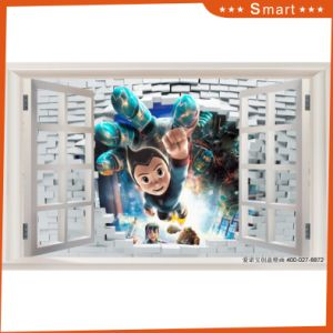 Astro Boy 3D Brick Design Oil Painting for Kids Children Room pictures & photos