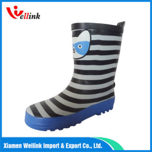 Hot Style Kids Rb Rain Boot with Decorative Strap