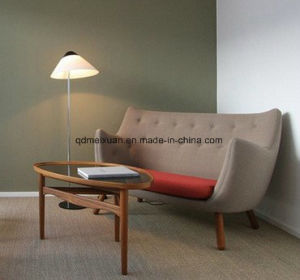Gannet FRP Double Sofa Leisure Chair, Double a Contemporary and Contracted Leisure Sofa (M-X3687) pictures & photos