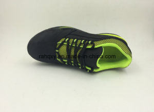 Black Casual Style New Designed Nubuck Leather Safety Shoes (16061) pictures & photos