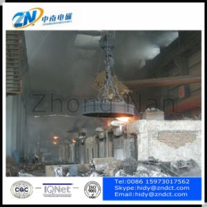 High Temperature Steel Scrap Lifting Electromagnet pictures & photos