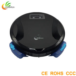 2016 Slim Body APP Robotic Vacuum Cleaner for House Cleaning pictures & photos