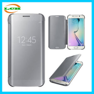 Fuel Injection Mirror Surface Auto Sleep Case for Sumsung S6/S7 pictures & photos