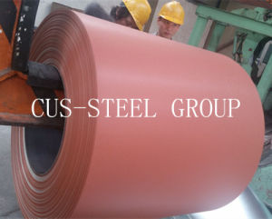 0.35*1000 Bolivia Matte Anti-Scratch Polyster PPGL/Wrinkled Prepainted Steel Coil/Matt PPGI pictures & photos