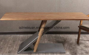 American Industrial Wind Table Do Old Desk Creative Loft Solid Wood Furniture, Wrought Iron Fashion (M-X3821) pictures & photos