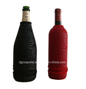 Top Quality Full Printing Wine Bottle Cooler Bag pictures & photos
