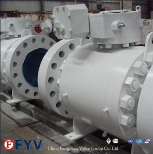 API 6D Handwheel Side Entry Fully Welded Ball Valve pictures & photos