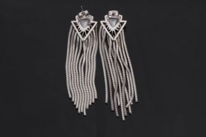 Wholesale Stainless Steel Tassel Earrings Women pictures & photos
