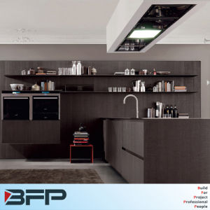 Laminated MDF Board Particle Board Plywood Kitchen Cabinet pictures & photos