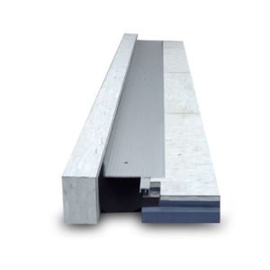 Extruded Aluminum Floor to Wall Expansion Joint Profiles in Construction pictures & photos