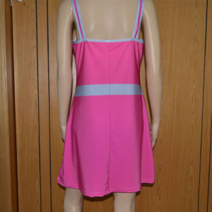 Solid Color Tennis Dress /Lady′s Tennis Shirt pictures & photos