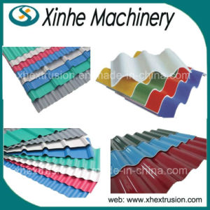 PVC Roof Sheet Production Line/PVC Roof Tile Extrusion Machine pictures & photos
