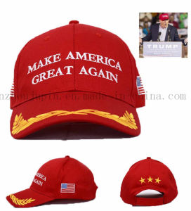 OEM Logo Promotional Advertising Baseball Hat Cap for Vote pictures & photos