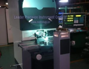 Horizontal Profile Projector for Screw (HOC400-2515) pictures & photos