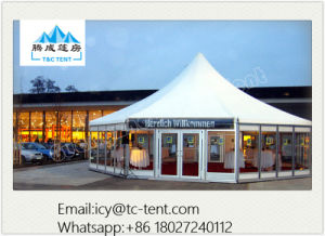 400 People Cumtomized Multi-Side Tent Party Wedding Tent with SGS pictures & photos