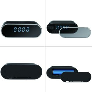 H. 264 Wireless Mini Electronic Clock Dvrfull HD 1080P Infrared WiFi Remote Camera Voice Video Recorder pictures & photos
