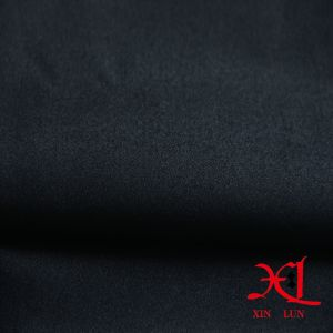 Black Textile Spandex Nylon Fabric for Suits/Sportswear pictures & photos