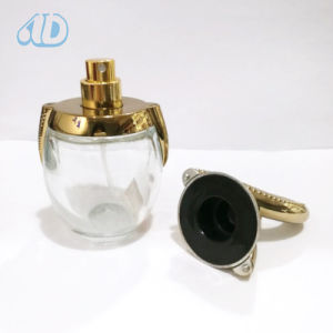 Special Curved Transparent Spray Glass Cosmetic Bottle pictures & photos